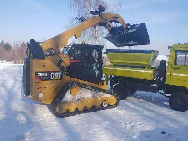 Báger CAT 299 XHP